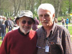 Joachim mit Mel Krieger