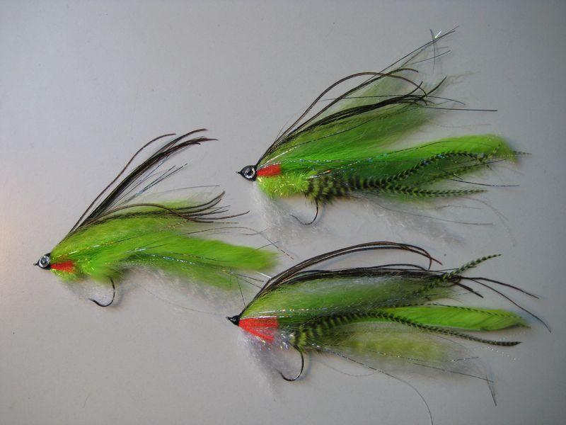 Pike Rattler Varianten in Chartreuse/Weiß
