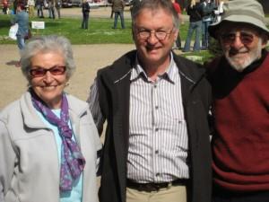 Mel Krieger, seine Frau und ich